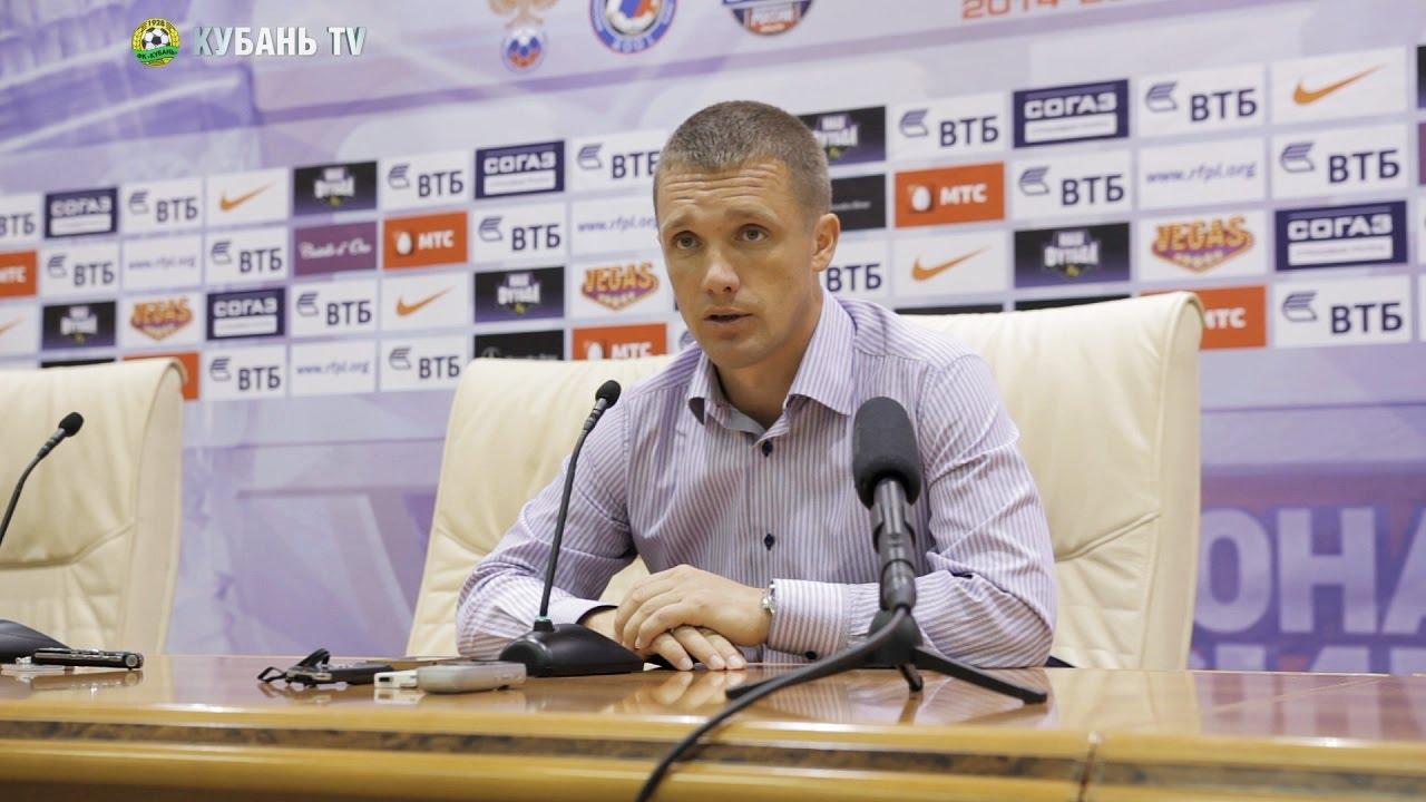 После матча: Виктор Ганчаренко
