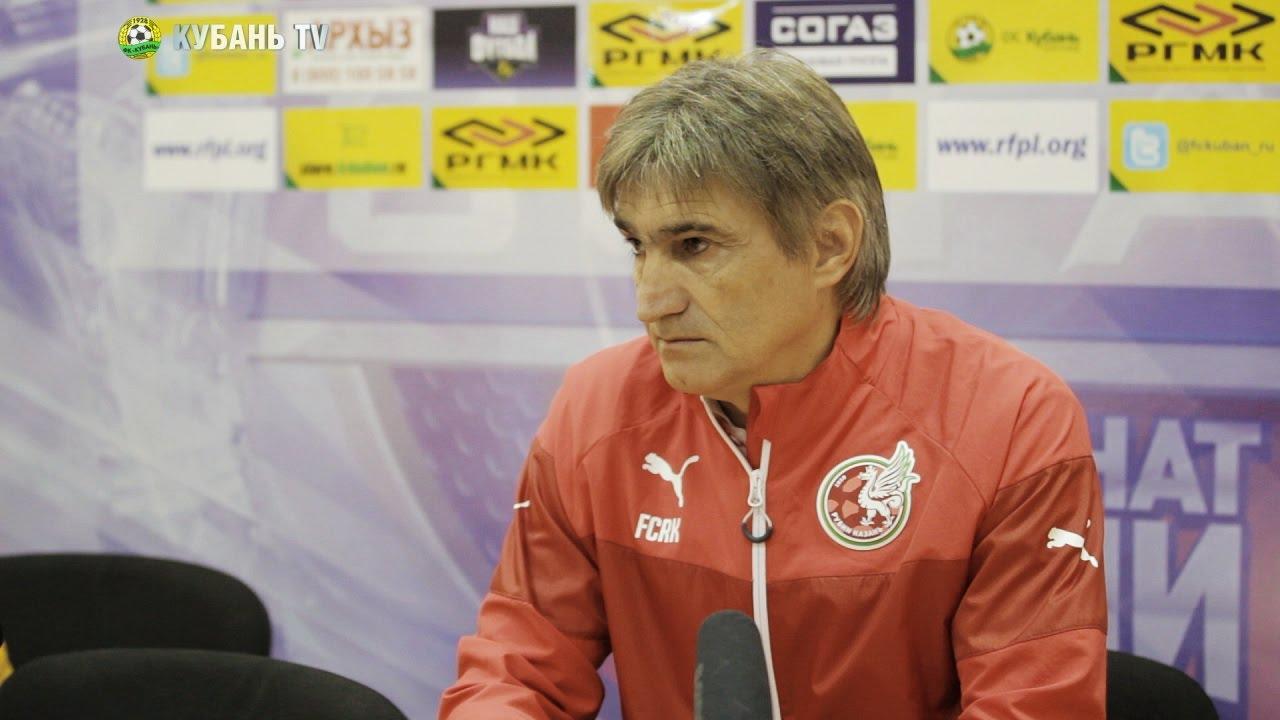 После матча: Валерий Чалый