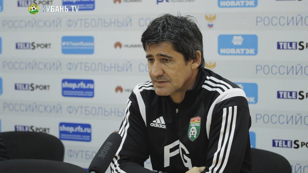 После матча: Николай Костов